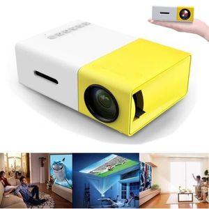 Vidéoprojecteur YG300 Full HD 1080p Mini Portable Vidéo Projecteur