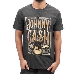 Johnny Cash Bleu Demin Veste en jean Homme Tailles