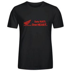 T-SHIRT Homme Unique Personnalisé Coton T shirt Logo Honda