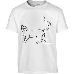 Je travaille dur pour mon chat-Womans T-ShirtPets Féline Mignon Animaux