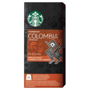 CAFÉ Starbucks - Starbucks Espresso Colombia (lot de 40
