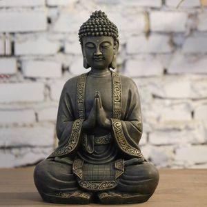 STATUE - STATUETTE Grande Statue Bouddha Méditation (40 cm)