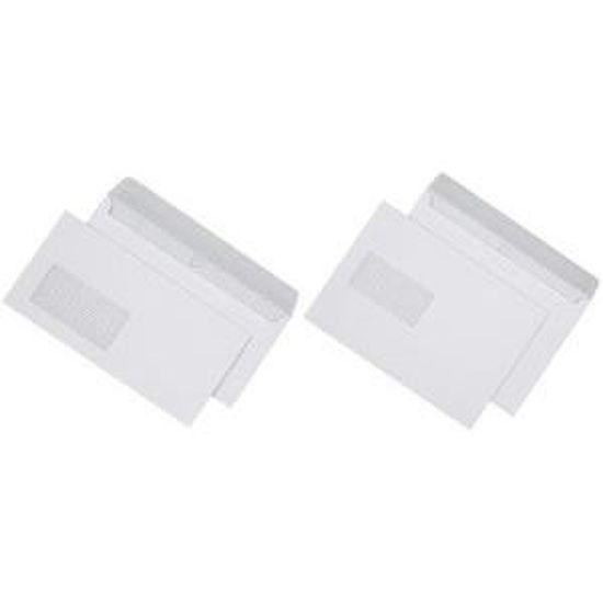 50 pochettes//enveloppes c5//a5 blanc haftklebend sans fenêtre 162x229 MM