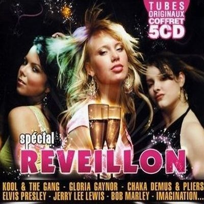 CD COMPILATION SPECIAL REVEILLON VOL.1 – Compilation – Coffret 5C