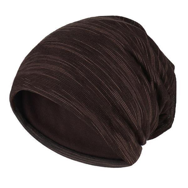 Chapeaux d'hiver femmes,Nouveau automne Turban casquette pour femmes hommes rayure bonnets pour hommes hiver coton ch Model:CBZ546