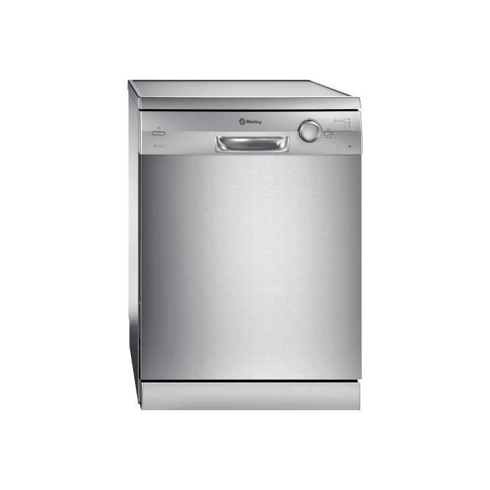 Balay 3VS307IP Lave-vaisselle pose libre largeur : 60 cm profondeur : 60 cm hauteur : 84.5 cm Acier
