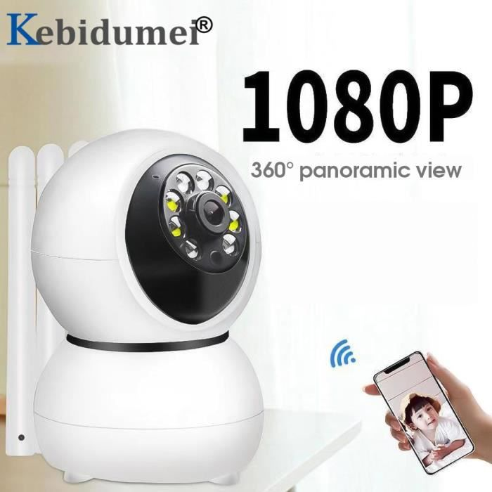 BABY PHONE - ECOUTE BEBE,Moniteur suivi automatique 1080P HD IP Caméra WiFi, sécurité domestique, caméra IP - Type 720P EU Plug
