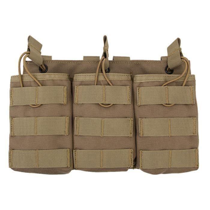 1 PC Molle Triple sac Durable Portable polyvalent suspendu poche accessoire pochette pour randonnée chasse SAC A DOS DE RANDONNEE