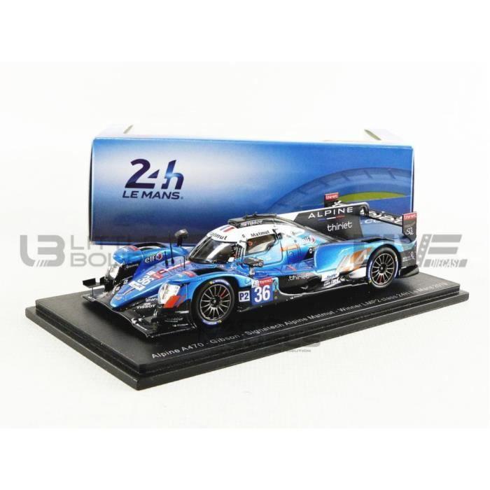 Voiture Miniature de Collection - SPARK 1/43 - ALPINE A470 Gibson Winner LMP2 Le Mans 2019 - Blue / Black - S7919