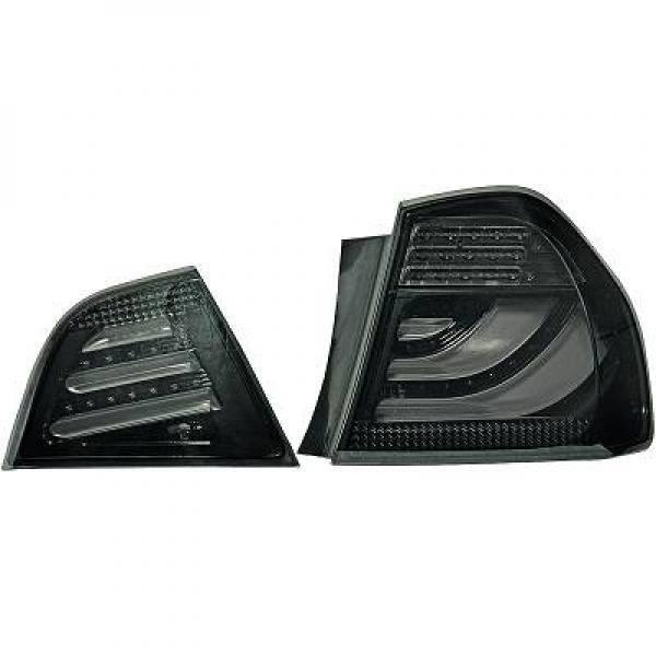 Kit de feux arrières teinté noir BMW Série 3 (E90, E91) de 09 à 12 - 1216395