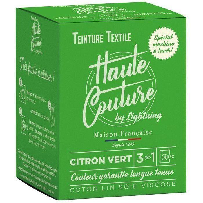 Teinture textile haute couture citron vert 350g
