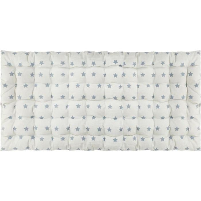 Matelas de sol à étoiles grises 60 x 120 cm