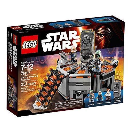 Jeu D'Assemblage LEGO Y5FVT Star Wars Chambre Carbon-gel 75137 Star Wars Toy