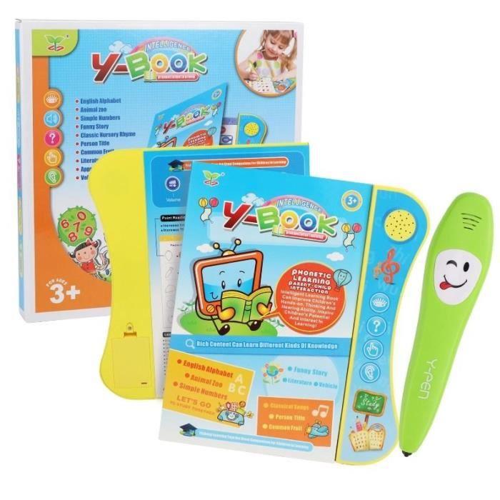 Livre Interactif Qumox Apprentissage Jouets Éducatifs pour enfant