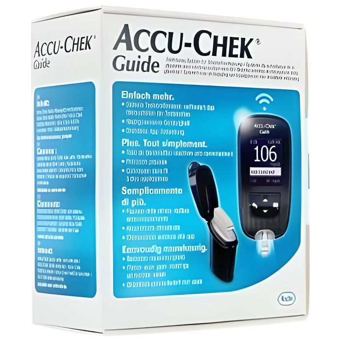 ACCU-CHEK GUIDE KIT COMPLET