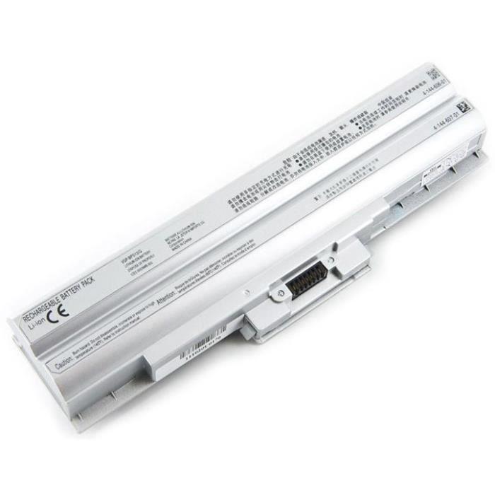 Batterie pour SONY VGP-BPS13B/Q - 6600mAh - 11.1V - Li-ion