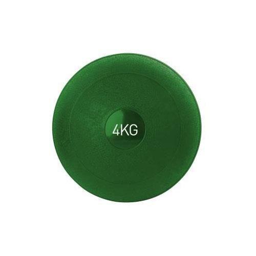 Medecine ball souple 4 kg-COLORIS VERT