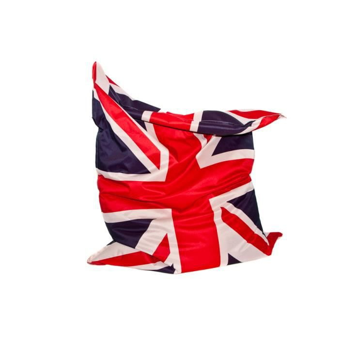 coussin g ant the big bag union jack achat vente pouf poire coussin g ant the big bag u. Black Bedroom Furniture Sets. Home Design Ideas