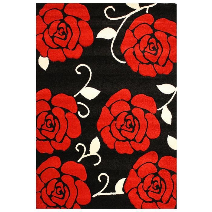 benuta tapis couture rouge 200x290 cm achat vente tapis cdiscount. Black Bedroom Furniture Sets. Home Design Ideas