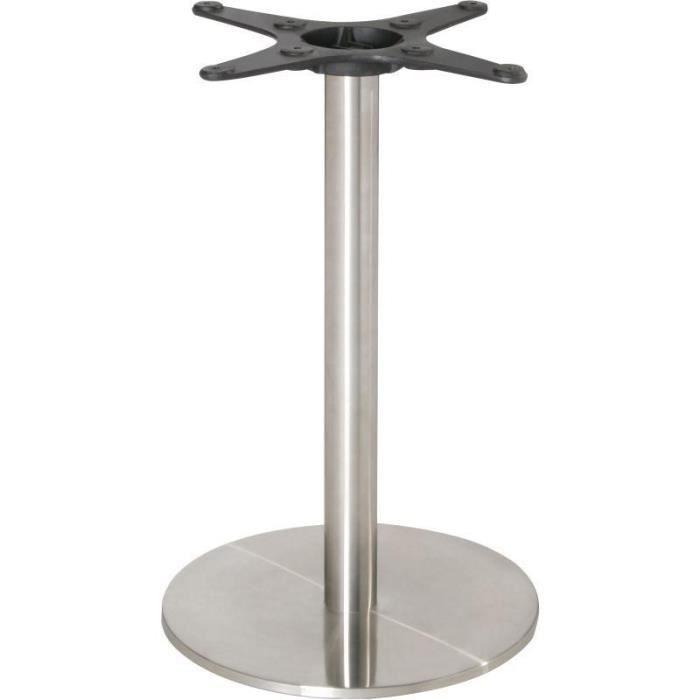 PIED DE TABLE Pied de table rond Inox Bolero