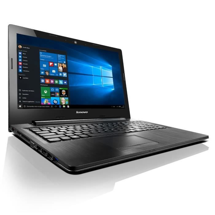 lenovo pc portable ideapad g50 80 15 6 intel core i5 4 go ram disque dur 1to amd. Black Bedroom Furniture Sets. Home Design Ideas