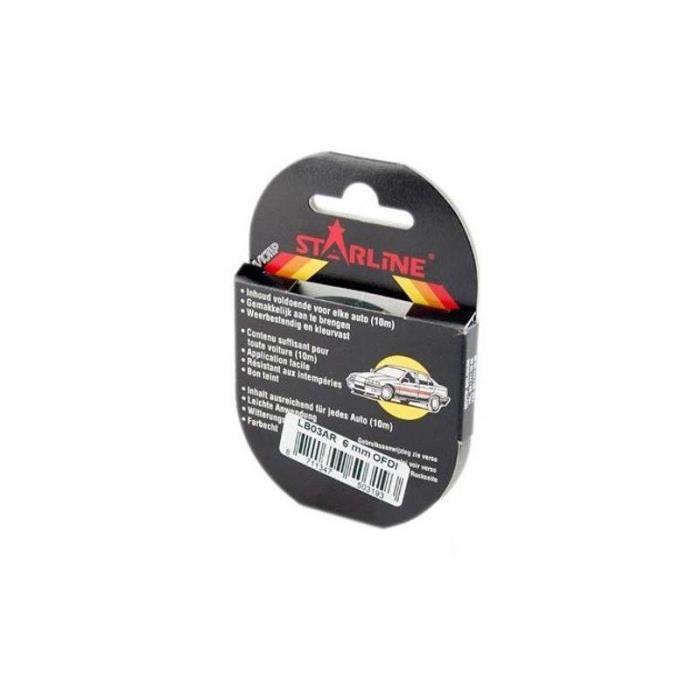 Motodak Liseret-Autocollant-Sticker Jante Replay Rose 7mm 6m avec applicateur