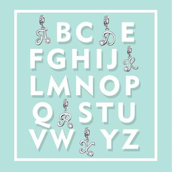 pandora lettre p