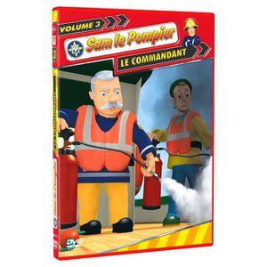 DVD DESSIN ANIMÉ DVD Sam le pompier - Volume 3 - Le commandant