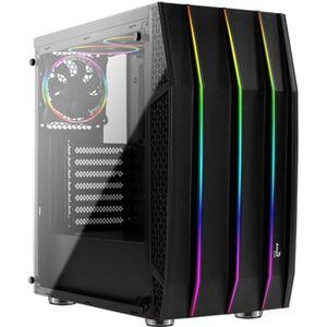 BOITIER PC  AEROCOOL Klaw RGB noir (Verre trempé) - Boîtier sa
