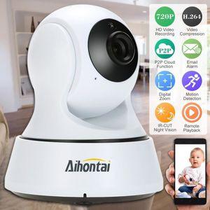 CAMÉRA IP Aihontai Caméras de surveillance Système 720P Jour