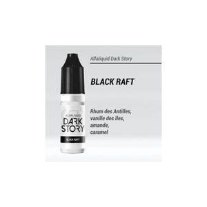 LIQUIDE E-liquide Black Raft DarkStory 0mg Alfaliquid Prom