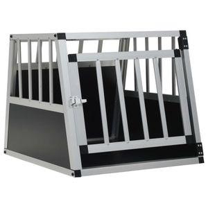 ACCESSOIRE ABRI ANIMAL Cage de Transport pour Chien en Aluminium Cage pou