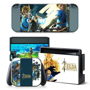 STICKER - SKIN CONSOLE Legend of Zelda Breath of The Wild Autocollants de