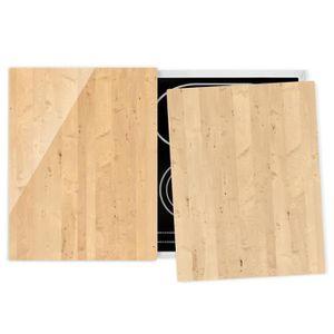 PLAQUE INDUCTION Couvre plaque de cuisson - Apple Birch - 52x80cm,