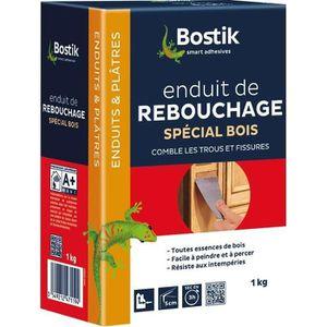 PEINTURE - VERNIS BOSTIK - Enduit rebouchage bois poudre 1kg