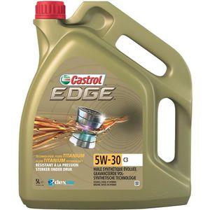 HUILE MOTEUR CASTROL Huile moteur Edge 5W-30 C3 - 5 L