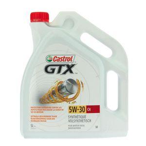 HUILE MOTEUR CASTROL Huile moteur -  GTX 5W-30 C4 5L