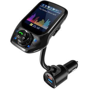 TRANSMETTEUR FM Transmetteur FM Bluetooth, 3 USB Voiture Adaptateu