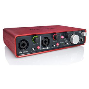 INTERFACE AUDIO - MIDI FOCUSRITE SCARLETT 2I4 INTERFACE AUDIONUMERIQUE…