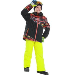 PANTALON DE SKI - SNOW Combinaison de ski Costume Garçon de Marque luxe É