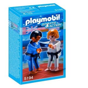 UNIVERS MINIATURE Playmobil 2 Judokas