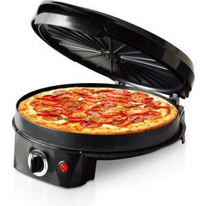 FOUR À PIZZA Multicuiseur spécial (Pizza-Tarte-Crepe) 1200W - T