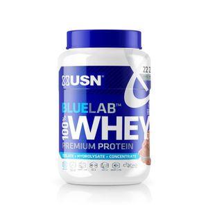 PROTÉINE USN Blue Lab Whey Chocolat USNUB01 - Bleu et blanc