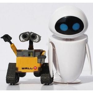 FIGURINE - PERSONNAGE Robot Wall-E & EVE PVC Figurine Collection Modèle