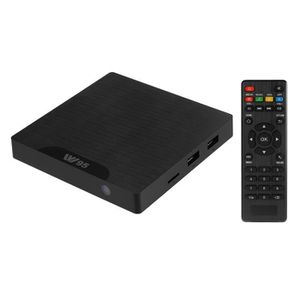 LECTEUR HD DVD W95 Smart Wifi TV Boîte Android 7.1 Amlogic S905W