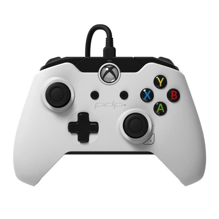 MANETTE JEUX VIDÉO Manette PDP Afterglow WH Xbox One