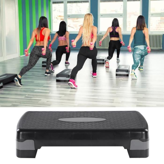 27 -Fitness cardio Yoga step planche de step de fitness sport gym hauteur réglable