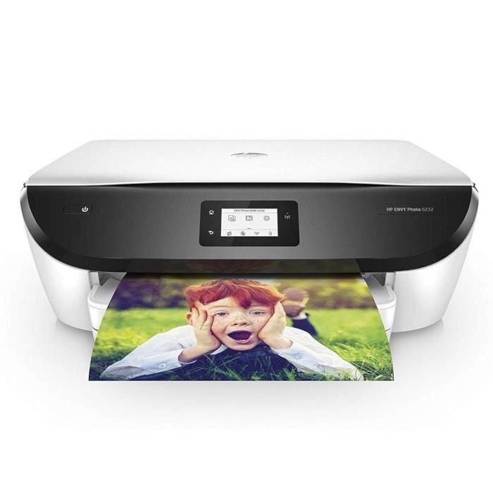 HP Envy Photo 6232 4800 x 1200DPI A Jet d'encre Thermique A4 13ppm WiFi - Multifonctions (A Jet d'encre Thermique, 4800 x 1200 DP