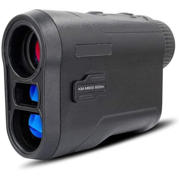 Télémètre de golf étanche de 600 mavec batterie au lithium de 500 mAcorrection balistique de golf de précision 6 fois pour le tir