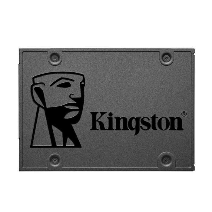 Kingston A400 SSD Disque dur SATA III HDD Disque dur SSD pour ordinateur portable Disque SSD interne 120 Go